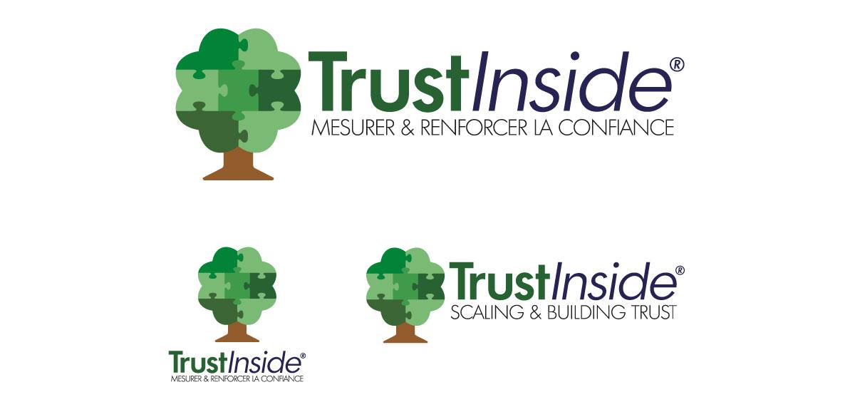 Logo TrustInside - Design Olivier Venel pour Joséphine Design