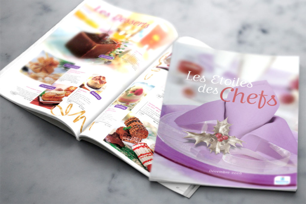 Josephine design, design graphique Pomona, catalogue produits