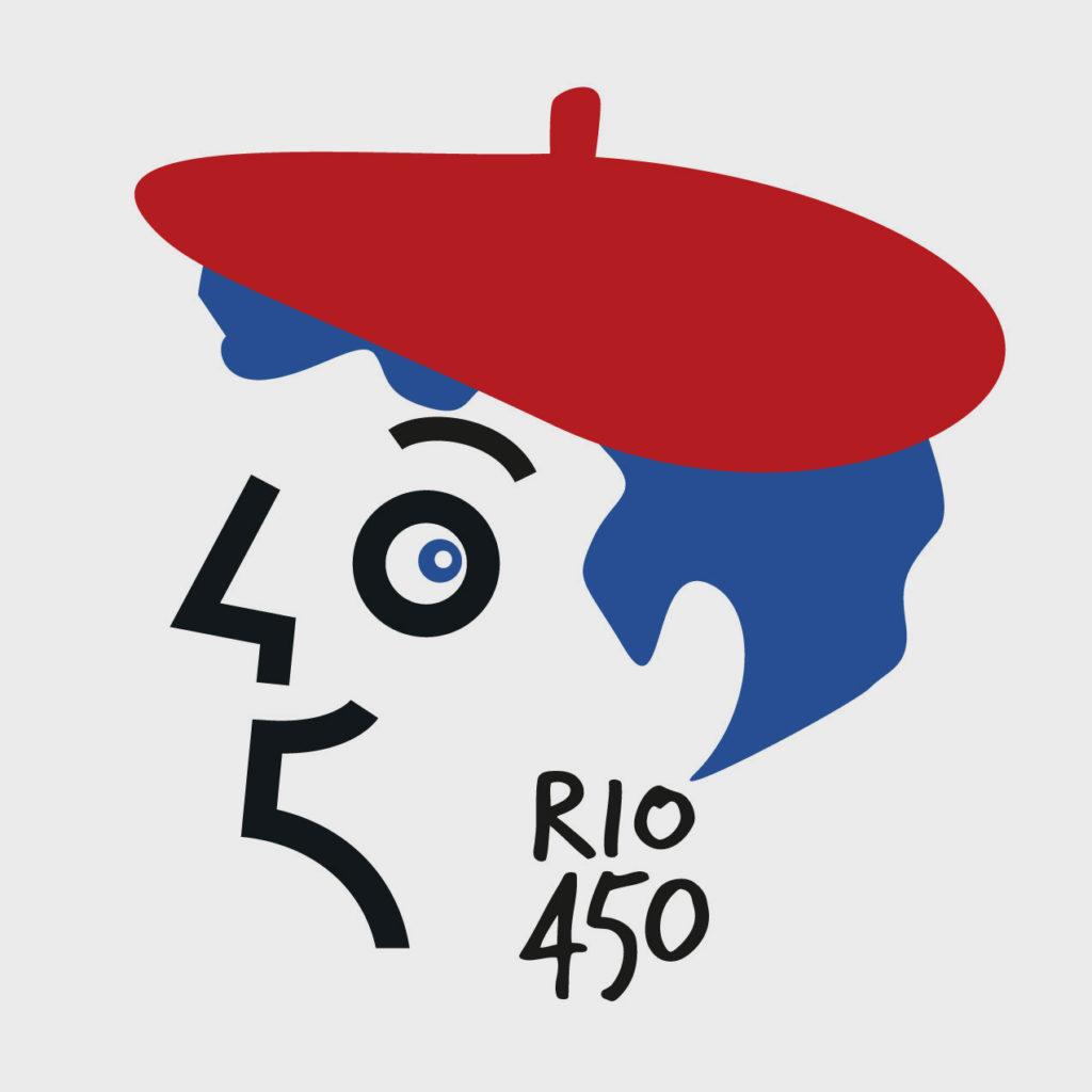 Logo du Consulat de France à Rio. Design Olivier Venel pour Joséphine Design
