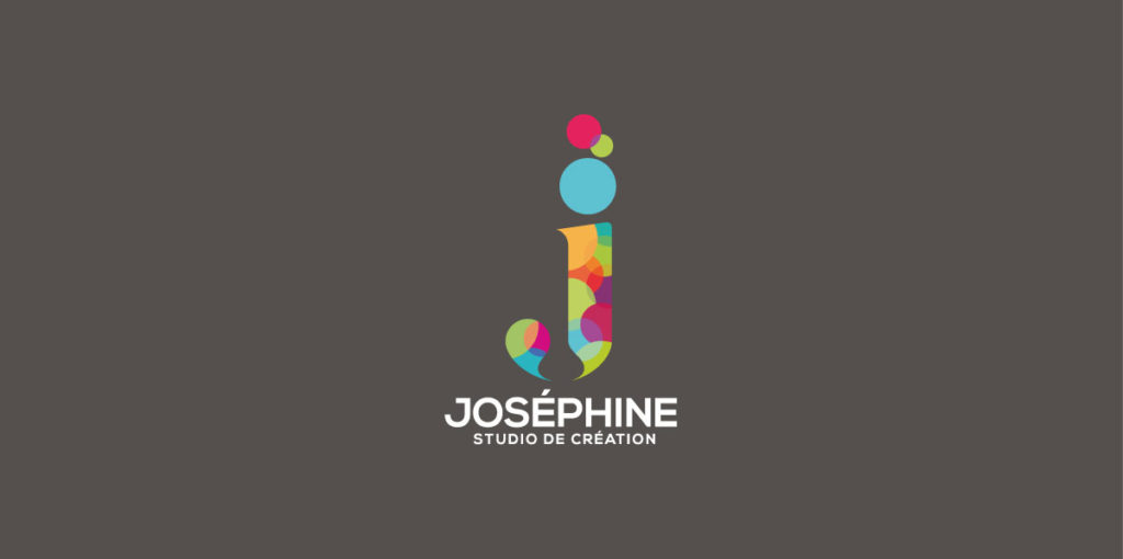 Logo de Joséphine Design. Design Olivier Venel pour Joséphine Design